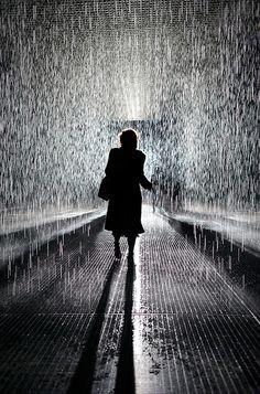 Random Internationals Rain Room at Moma   Flickr - Photo Sharing!