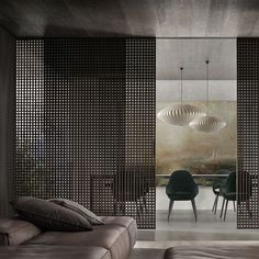 Perfection from Rimadesio! Perfection from Rimadesio! Partition Screen, Divider Screen, Partition Design, Zen Interiors, Office Interiors, Screen Design, Interior Walls, Best Interior, Luxury Interior