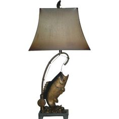Crestview The Catch Table Lamp at Cabela's