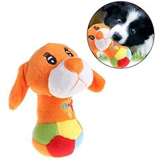 Onpiece Cat Dog Squeaker Puppy Plush Random Animal Shape *** Click on the image for additional details. (This is an affiliate link) #DogToys