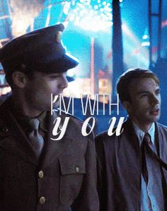 """""""You're my friend"""" - Steve and Bucky. I feel that stating the pain this causes me would be redundant, but...so much pain."""