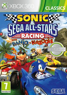 #Sonic and sega #all-stars #racing xbox 360 game - brand new and sealed,  View more on the LINK: 	http://www.zeppy.io/product/gb/2/121852725257/