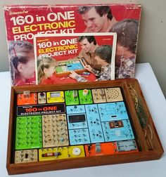 Science Fair 160 in One Electronic Project Kit 1982 Radio Shack Free Shipping | eBay