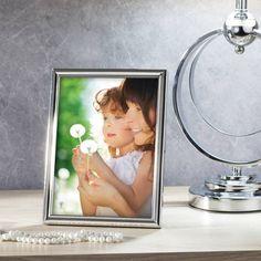 #ramka #photo #picture #frames #family #decoration #home #dekoracje Ramka Emilii 17x2x22cm silver, 17x2x22,5cm - Dekoria