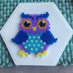 Owl perler beads by tendalmarita