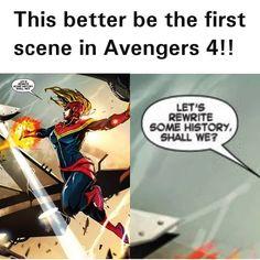 The Avengers need her right now.#captainmarvel#avengers4#avengersinfinitywar#infinitygauntlet#thanos#mcu#marvel