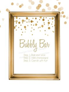 Set of 5 printable white and gold champagne bridal shower signs/ champagne brunch signs/ champagne bridal shower/ mimosa bar by glassslipperdesigns on Etsy