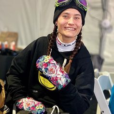 This model is the cold weather choice of Bliss's pro team. The perfect combo of style, warmth and functionality. Cold Weather, Loom, Bliss, Gloves, Bomber Jacket, Coral, Smile, Face, Women