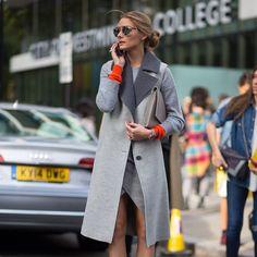 Orange. Grey. Olivia Palermo. http://www.downjacketbigmall.com/ $186.99 winter coat,canada goose,down jackets cheap coat