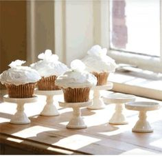 How darling would this be on a table for a wedding?  $34.50 plus $5.00 shipping for a set of 6.