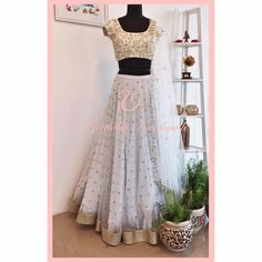 White color designer net sequince work lehenga choli with heavy work blouse for women, indian lehenga, lehenga blouse, lengha choli Ghagra Choli, Blouse Lehenga, Anarkali Lehenga, Lehenga Skirt, Bridal Lehenga, Sharara, Indian Lehenga, Desi Wear, Lehenga Choli Online