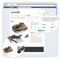 Schaut an: die einzelnen Produkte werden genau beschrieben und sehr übersichtlich dargestellt.   Mehr Informationen dazu unter  www.zadego.de/commerce