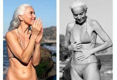 Yasmina Rossi (Foto: Divulgação ) 59 years old and still looks great in a bikini Sexy Older Women, Old Women, Yasmina Rossi, 1990 Style, Beautiful Old Woman, Bikini Poses, Mature Fashion, Advanced Style, Ageless Beauty