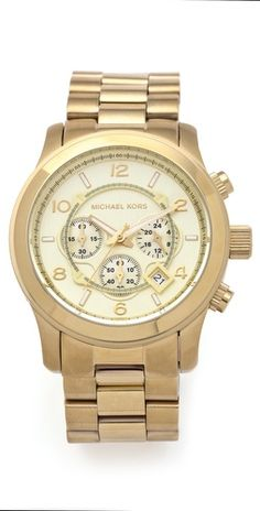 Oversized Watch from Michael Kors