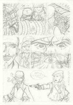 M.REDONDO- Comics: * Curso de Academia de Cómic: Dibujos 01