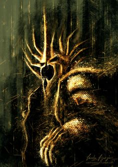 The Witch King. by VarshaVijayan on deviantART