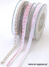 Κορδέλα φυτίλι σατέν Ribbons, Bias Tape