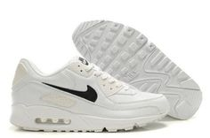 separation shoes a4d04 65059 Nike Air Max 90 Mens Beige White Black NK-shoes247