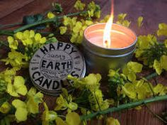 Aromatherapy Candle with citrus fruits & cedarwood from Happy Earth Candles Citrus Fruits, Happy Earth, Aromatherapy Candles, Beautiful Things