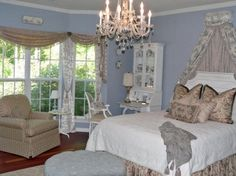 Pretty Light Blue Bedrooms