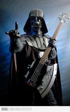 When my husband finally starts his band...