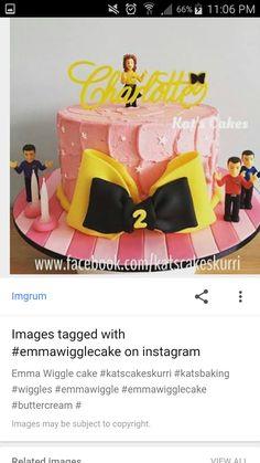 Addys birthday party 1st Birthday Princess, 3rd Birthday Cakes, Baby 1st Birthday, 4th Birthday Parties, Birthday Ideas, Wiggles Birthday, Wiggles Party, Emma Wiggle, Wiggles Cake