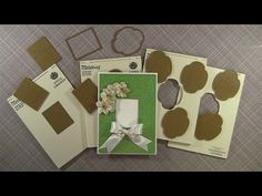 The Paper Boutique: Anna Griffin Mix and Match Embossing Folders Video