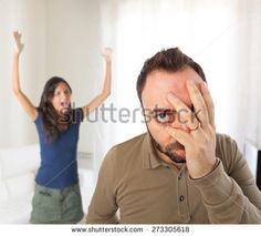 Relationship problems between husband and wife in the home.