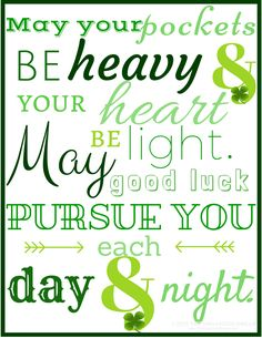 Free St. Patrick's Day printables available on the blog! Stop by and check them out. Download your PDF! | TheOrganizedDream.com