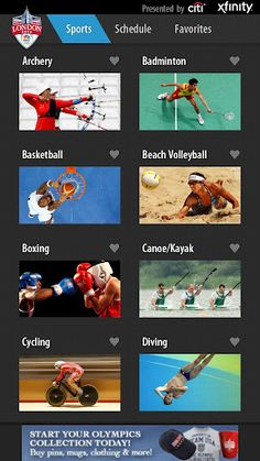 olympic 2012,game updates,live updates,olympic game app