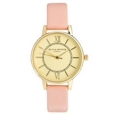 Olivia Burton Wonderland Pink Watch by Olivia Burton