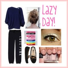 """Lazy Day!"" by robyyj ❤ liked on Polyvore"