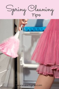 It's spring, and while that brings means many good things, it also means Spring Cleaning. Here are a few helpful hints to make it go smoothly.