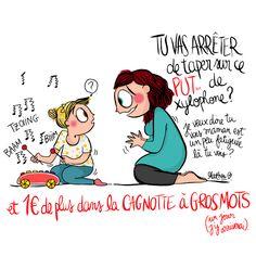 Crayon d'humeur by Mathou : merd... credi !