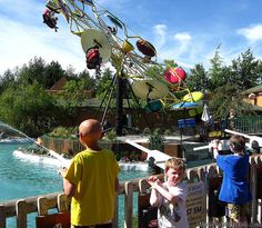 Silverwood Theme Park in Idaho has the grandest, most complete theme park in the whole Northwest