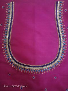 Blouse Designs Catalogue, Best Blouse Designs, Simple Blouse Designs, Bridal Blouse Designs, Blouse Neck Designs, Chudi Neck Designs, Simple Embroidery Designs, Saree Kuchu Designs, Embroidery Blouses