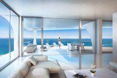 Herzog & de Meuron to design residential tower in Miami.. Oh to be able to retire to this fancy condo would be a dream no more shoveling snow click on the picture and I'm sure it'll take you to their web page..wait for nect picture it will blow your  .  Mind..DREAM CONDO LIVING