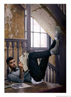 Musician and a former member of One Direction Zayn Malik takes the pages of GQ Style Magazine's Fall 2016 edition captured by photographer Anders Overgaard. Estilo Zayn Malik, Zayn Malik Fotos, Zayn Malik Style, Zayn Malik Photoshoot, Zayn Malik Fashion, Liam Payne, Louis Tomlinson, Harry Styles, Gq Usa