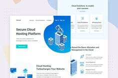 Cloud Host - Email Newsletter by Ra-Themes on Envato Elements Email Templates, Newsletter Templates, Ra Themes, Email Newsletters, Lorem Ipsum, Clouds, Design, Cloud