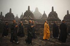 #Vaisak #Borobudur