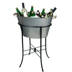 Oasis Oval Party Tub with Stand