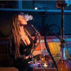 girl smoking shisha - Google'da Ara