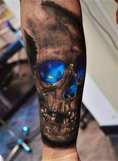 tattoos for guys - tattoos for women . tattoos for women small . tattoos for moms with kids . tattoos for guys . tattoos with meaning . tattoos for women meaningful . tattoos on black women . tattoos for daughters Forearm Tattoo Design, Skull Tattoo Design, Skull Tattoos, Body Art Tattoos, New Tattoos, Tatoos, Maori Tattoos, Scary Tattoos, Samoan Tattoo
