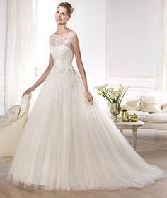 Pronovias Orba, $750 Size: 6 | Used Wedding Dresses  #wedding #mybigday #modernprincess