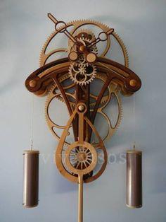 Planos autocad  o Reloj de madera Copia Solaris
