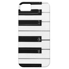 Piano Keyboard Keys iPhone 5 Cover