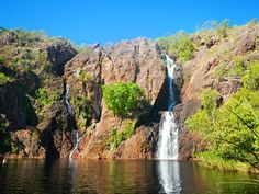 Wangi Falls, Litchfield National Park. Northern Territory Australia. #NTAustralia via Isabelle Kenis