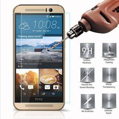 2.5D 9H Tempered Glass for HTC 10 Screen Protector for HTC One M7 Mini M8 M9 A9 X9 E8 Desire 830 620 Toughened Glass Film