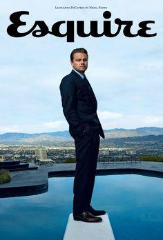 Leonardo DiCaprio by Nigel Parry for Esquire UK | April 2010