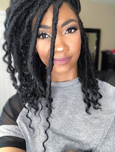style de cheveux - Ete Newest Hair Design Faux Locs Hairstyles, Twist Hairstyles, Black Hairstyles, Dope Hairstyles, Curly Hair Styles, Natural Hair Styles, Coiffure Hair, Beautiful Braids, Girls Braids